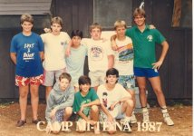 Camp Mi-Te-Na days with Ben Howe